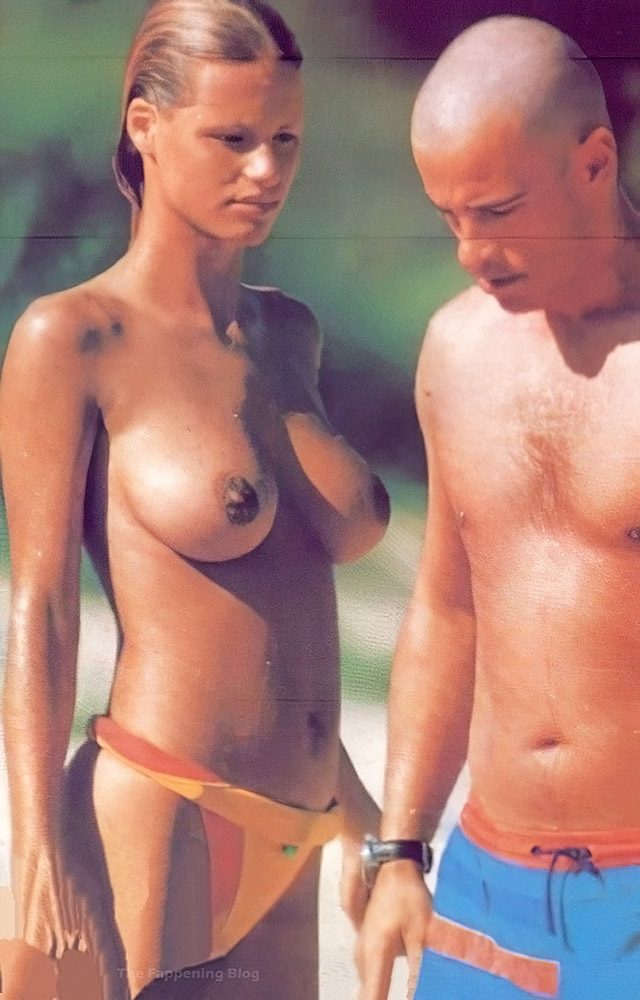 Michelle Hunziker nude naked sexy boobs hot pics