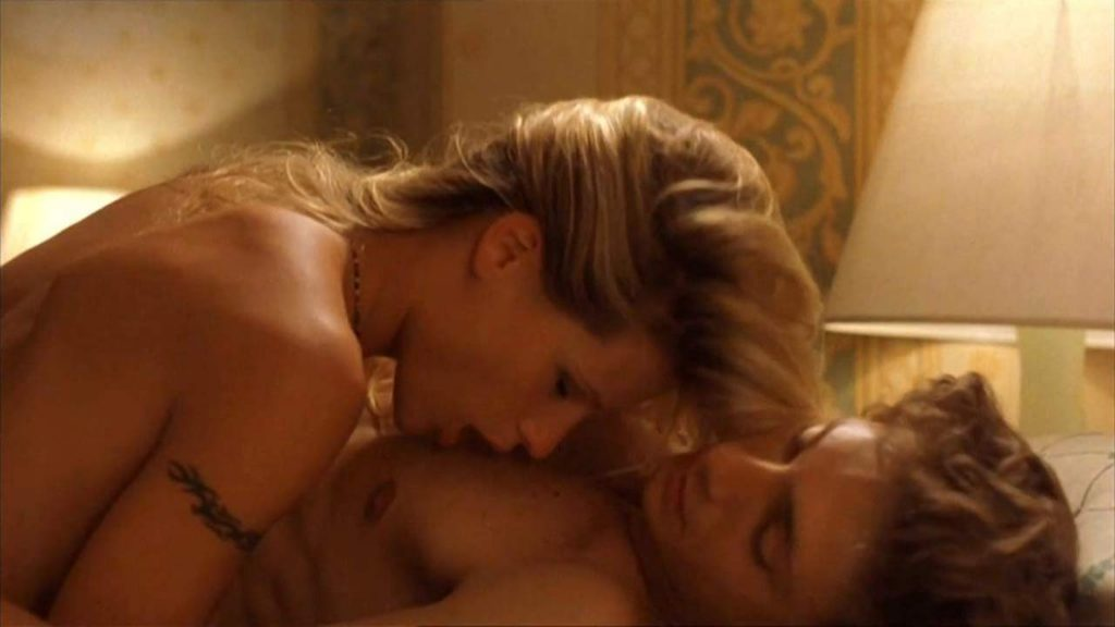 Michelle Hunziker nude naked hot sex scene